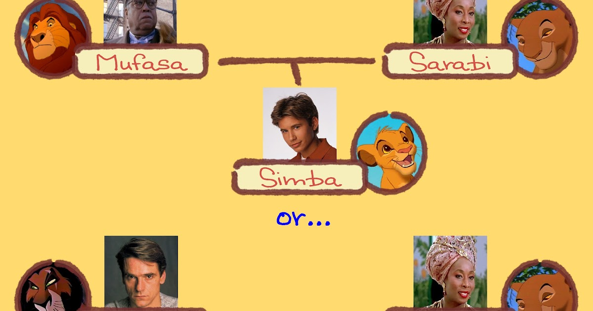 The Real Lion King Family Tree