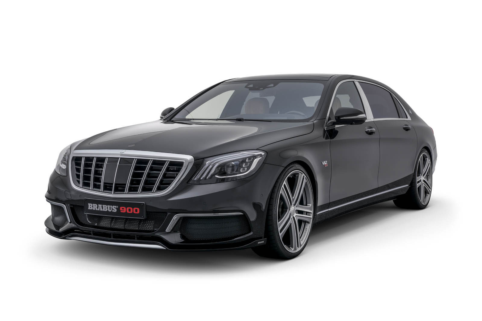 Maybach S650 Not Enough? Check Out The New Brabus 900 ...