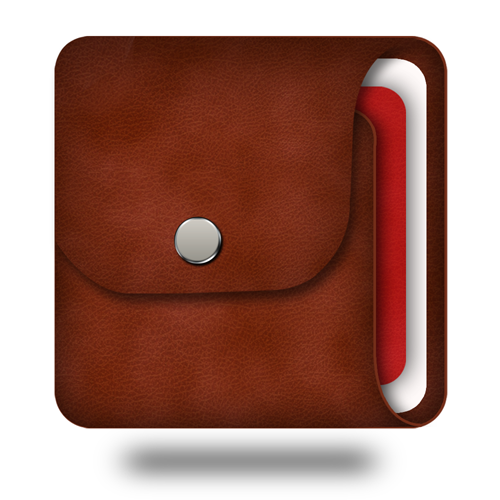Wallet App Icon For iOS App And Android App
