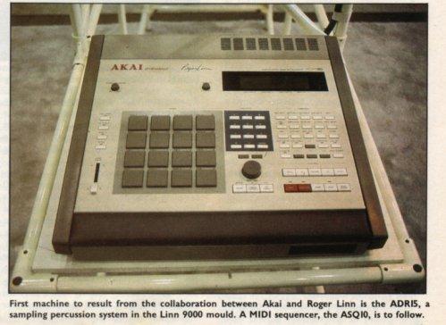 MATRIXSYNTH: The Akai ADR15 (MPC60) - Synth History with