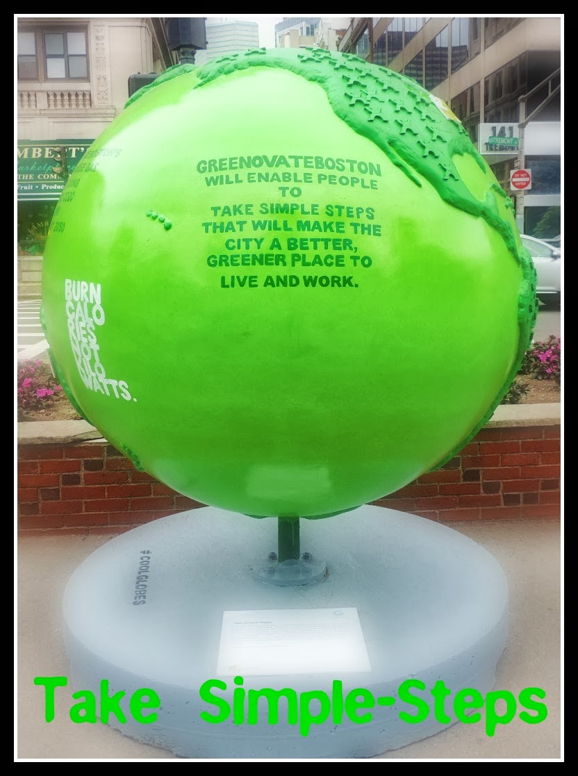 The Cool Globes en Boston: Common I: Take Simple-Steps
