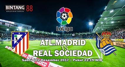 Prediksi Atletico Madrid vs Real Sociedad 2 Desember 2017