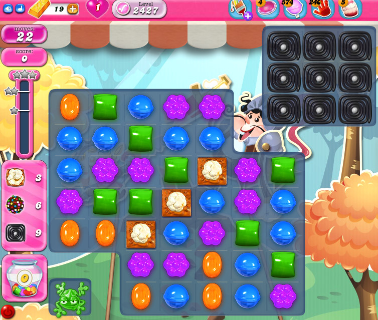 Candy Crush Saga level 2427