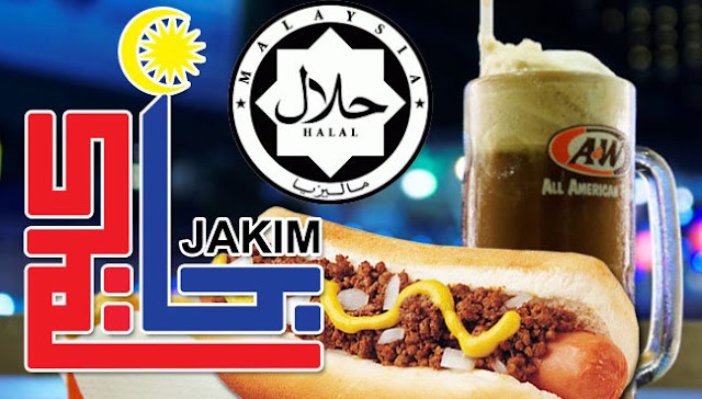 root beer, coney dog, A&W, A&W Halal, Jakim Halal