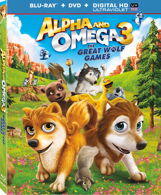 Alpha and Omega 3: The Great Wolf Games (2014) Hindi Dubbed [BRRip]