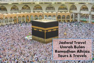 Informasi jadwal travel umrah ramadhan alhijaz travelku