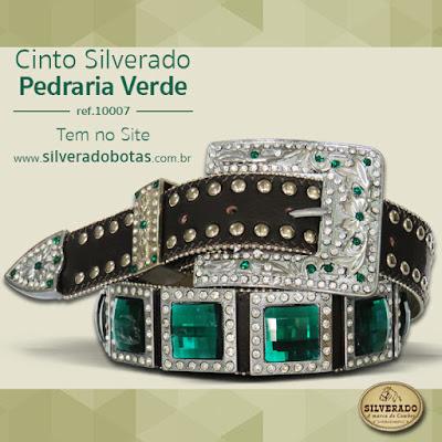 SILVERADO BOTAS  Cintos Silverado Pedrarias c08d897ae14