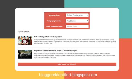 Blogger Siste Haritası