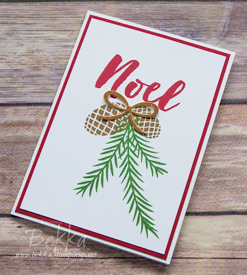 Fast and Fabulous Christmas Pines Christmas Card