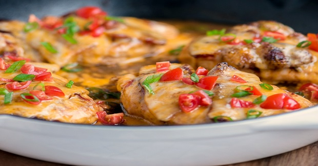 20 Minute Skillet Monterey Chicken Recipe