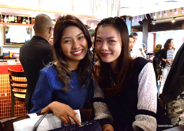 Pretty bloggers at the launch