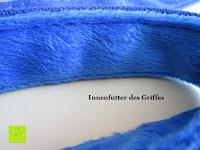 Innenfutter: Hundeleine - robust und reißfest - Grün, Rot, Blau - 130 cm - gepolsterter Griff und stabiler Karabiner