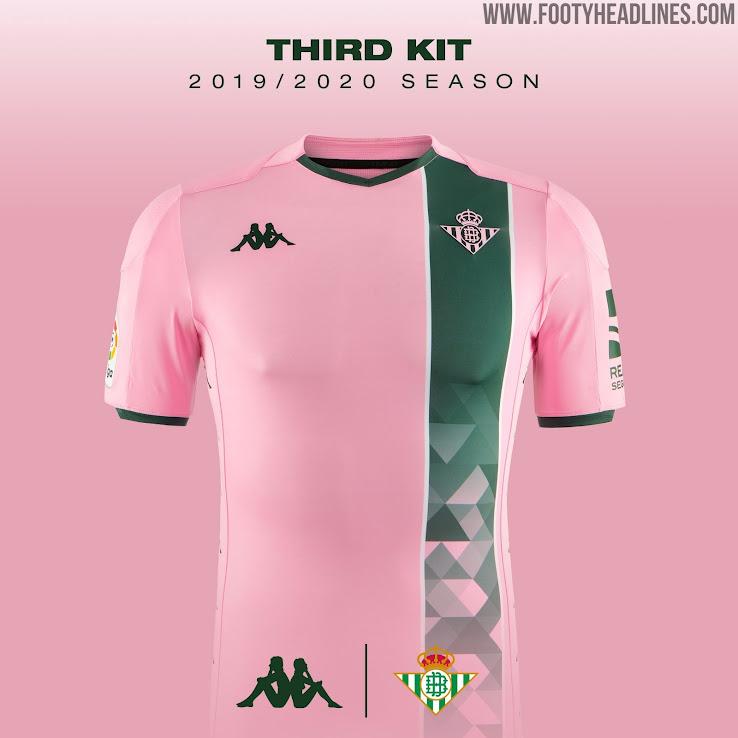 Betis 19 20 Away Third Kits Released Footy Headlines