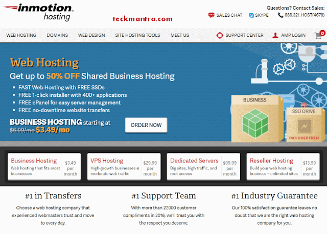 Best 3 Web Hosting Providers