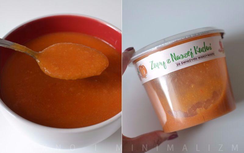 zupa z naszej kuchni, pomidorowo-paprykowa z ciecierzycą
