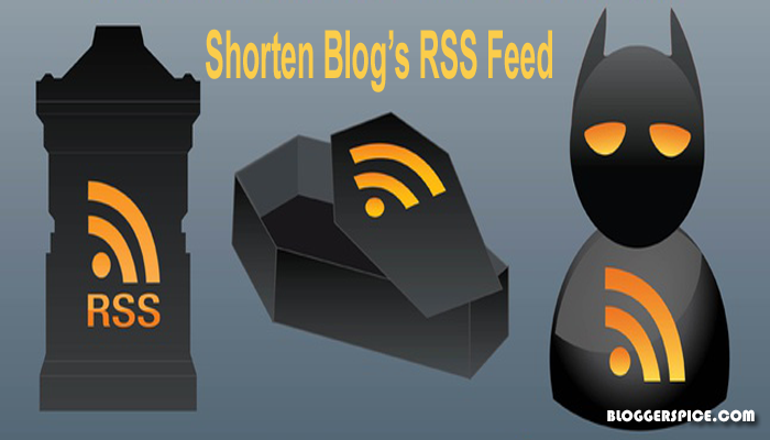 shorten RSS feed