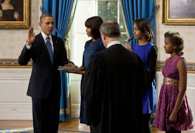 President Obama take Oath