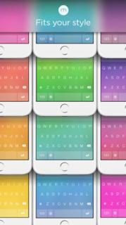 تطبيقات لوحة المفاتيح للايفون