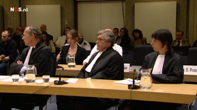 judges in Wilders trial