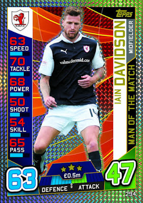 Match Attax SPFL 2016//17 édition limitée Adam Rooney Bronze Aberdeen