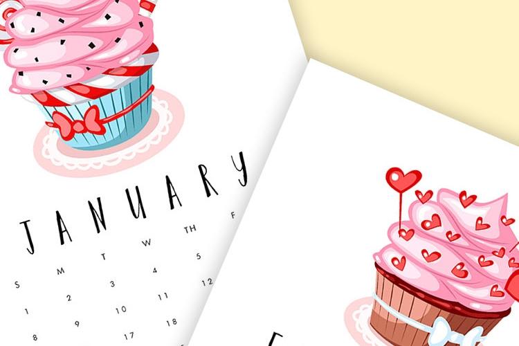 piękny kalendarz 2017 do druku do pobrania za darmo