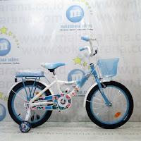 Sepeda Anak Wimcycle Frozen 18 Inci Lisensi