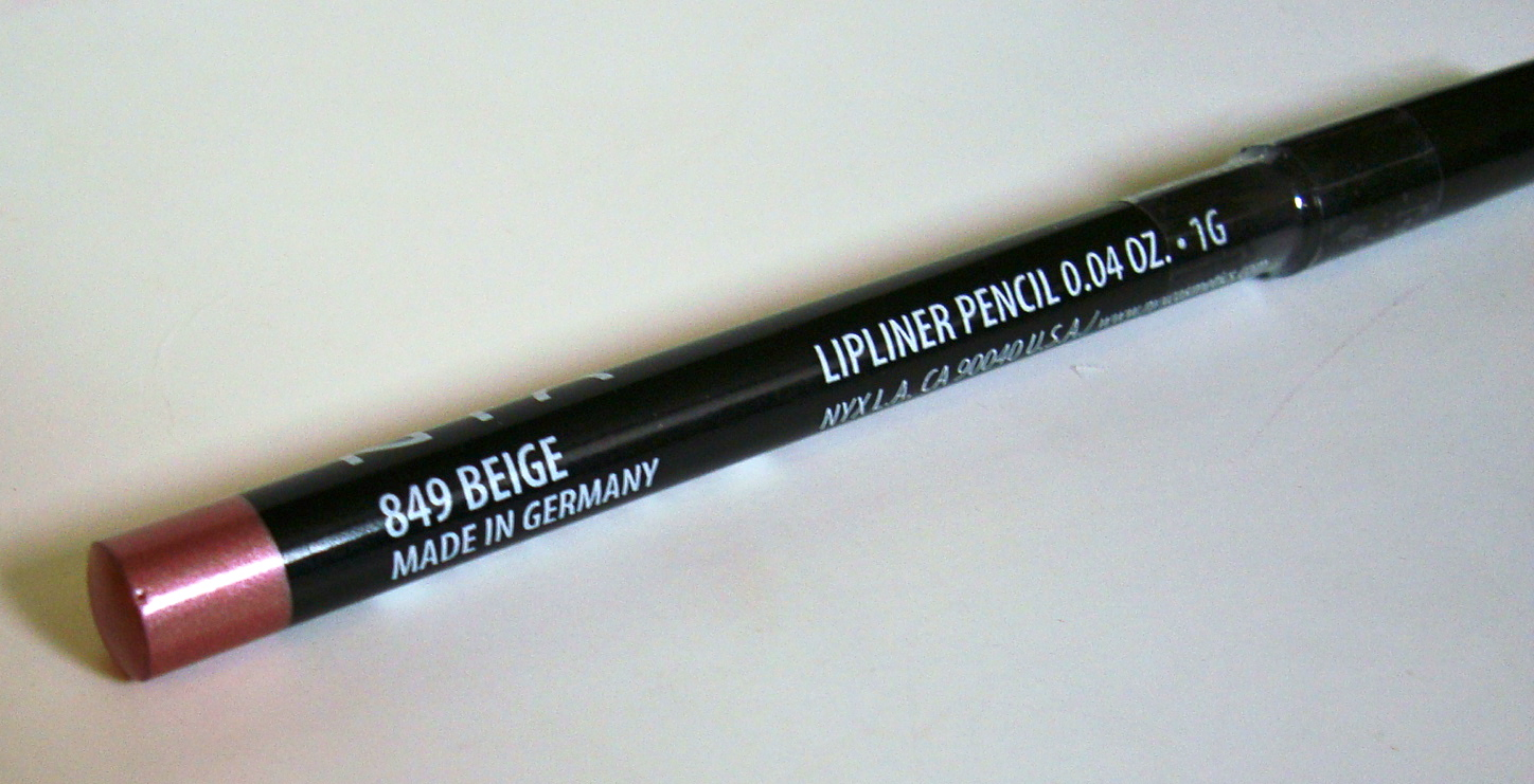 Review & Swatchfest: NYX Lip Liners in Sand Pink, Beige ...