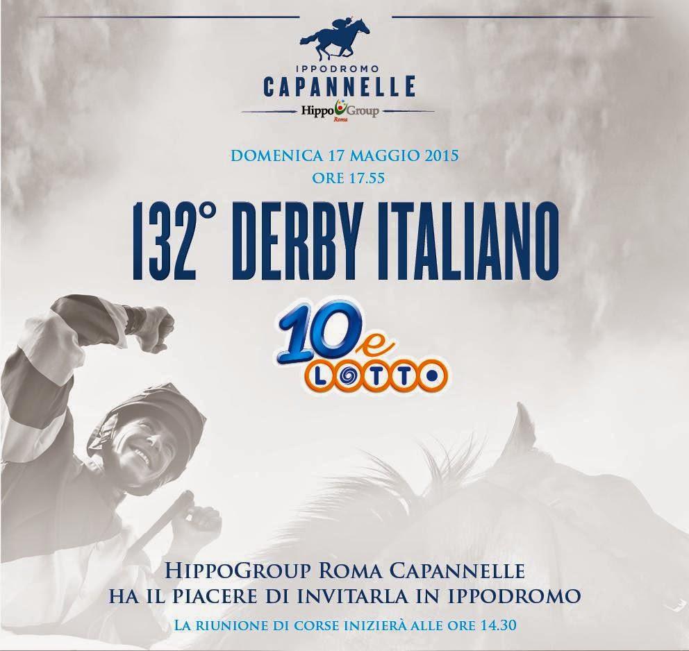 Calendario Corse Capannelle.Arriva Il 132 Derby Italiano Domenica 17 Maggio 2015