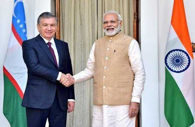 India Signed MoU with Uzbekistan