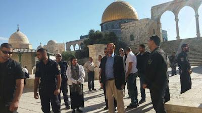 Rabino Yehuda Glick visita Monte do Templo pela última vez
