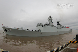 23rd Chinese naval escort taskforce leaves for mission
