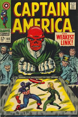 Captain America #103, the Red Skull