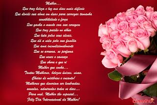 Mensagens para o dia da Mulher 8 de Março Dia Das Mulheres.
