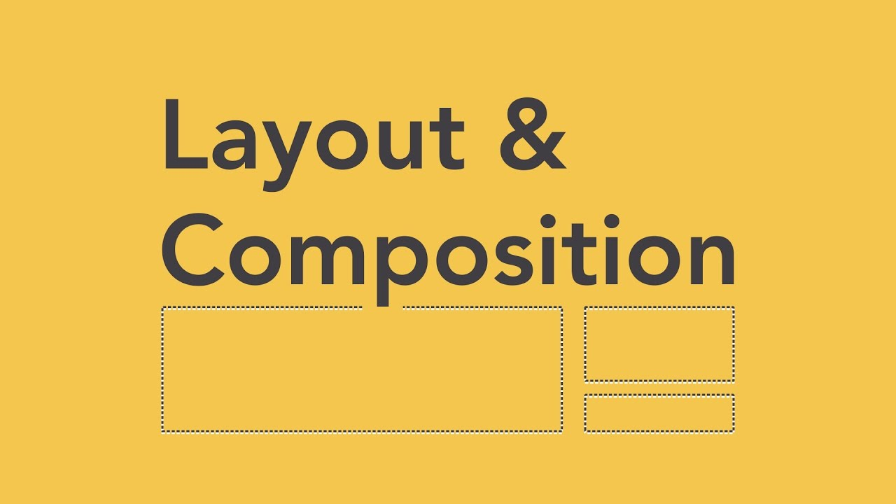 Beginning Graphic Design: Layout & Composition [video]