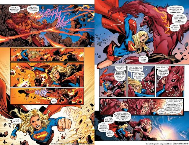 Ringkasan Komik Supergirl Rebirth #001 (2016)