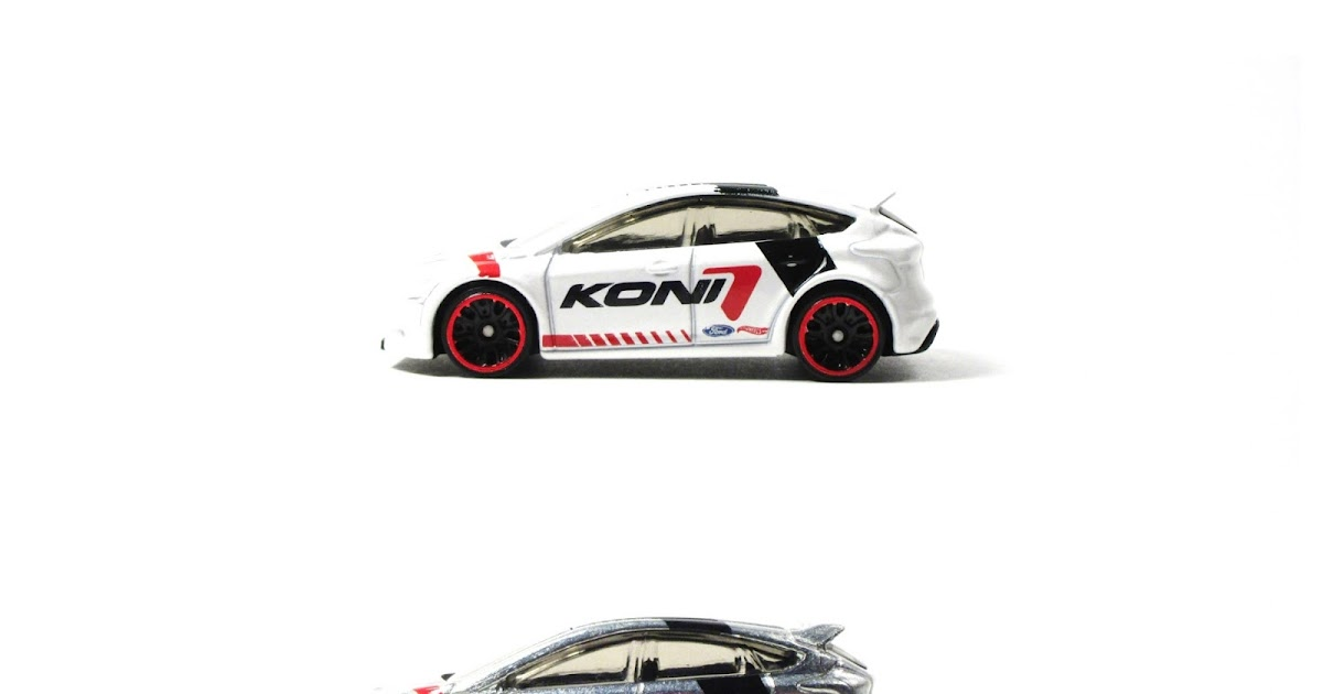 Don't Stop Koni 2017: A Hot Wheels Ford Focus RS Trio