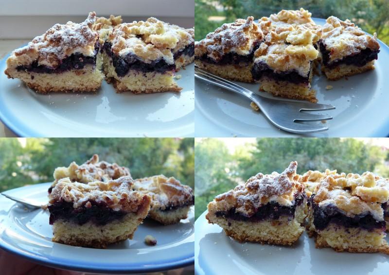 łatwe do zrobienia ciasto z jagodami