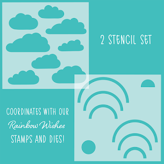 Rainbow Wishes | Set of 2 Stencils