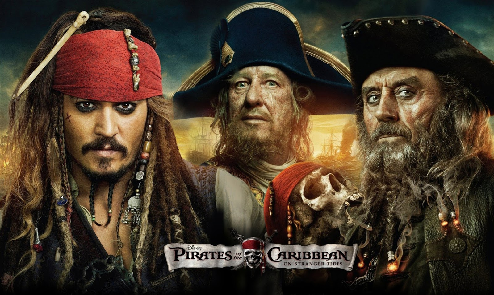 HQ Wallpapers Of Hollywood Superhit Movie PIRATES OF THE