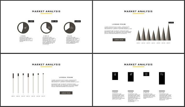 Desktop Screen Mock-up and Multi - Purpose Free PowerPoint Template [SIMPLE] Slides 17-20