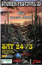 [Live Report] The Bliss, Dope Flood, Lizardia @ Larissa, 24/03/2012