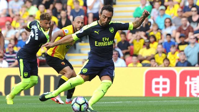 [Video] Cuplikan Gol Watford 1-3 Arsenal (Liga Inggris)
