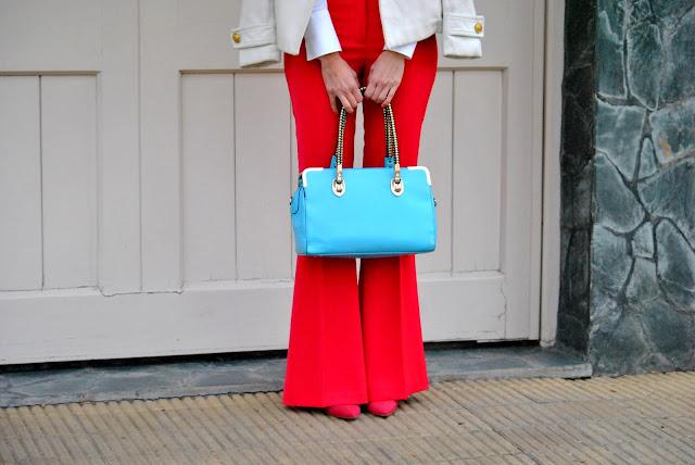 mislooks, outfits, ootd, odd, outfit of the day, como llevar pantalon fucsia, como vestir, asesora de imagen, consejos, ugo santini, jazmin chebar, inversa, muto magazzino, zara, color shocking