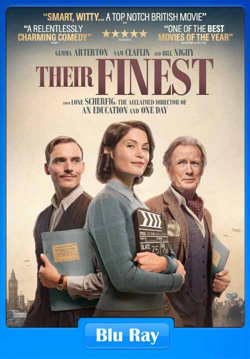 Their Finest 2016 480p BRRip 350MB x264
