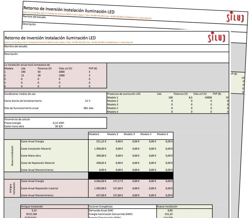 SILUJ plantilla excel ahorro energetico - formato inventario en excel