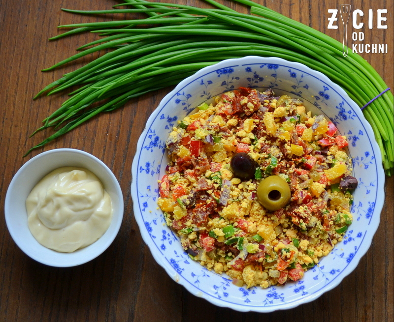 jajka faszerowane, wielkanoc, sniadanie wielkanocne, zycie od kuchni, przepisy z jajem