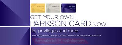 Parkson Malaysia card