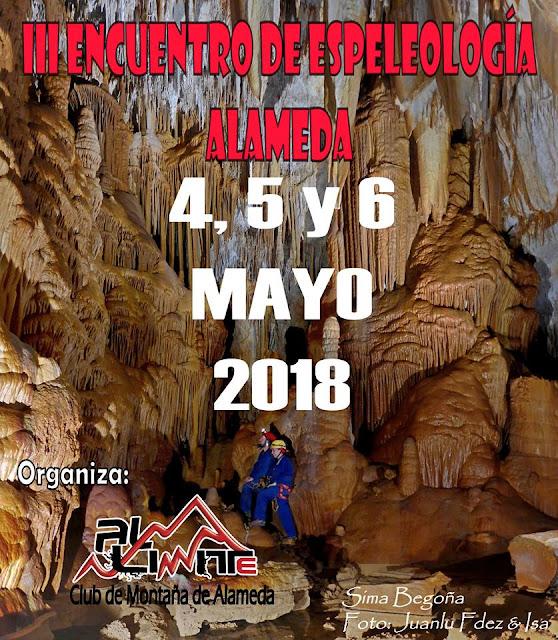 III Encuentro de Espeleología de Alameda