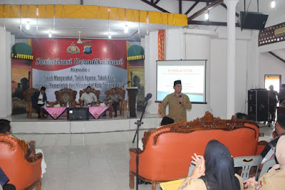 Kemenag Tanjungbalai Hadiri Sosialisasi Deradikalisasi