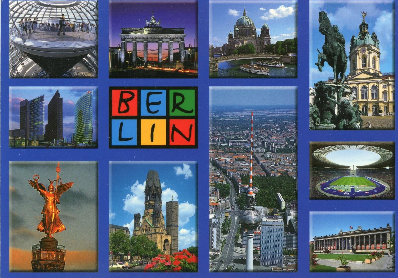 коллаж с картинками по германии один
